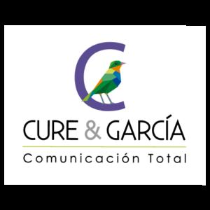 Logo Cure y García, Comunicación Total