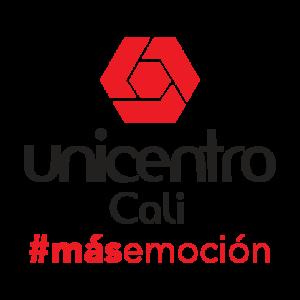 Logo Unicentro Cali, # más emoción