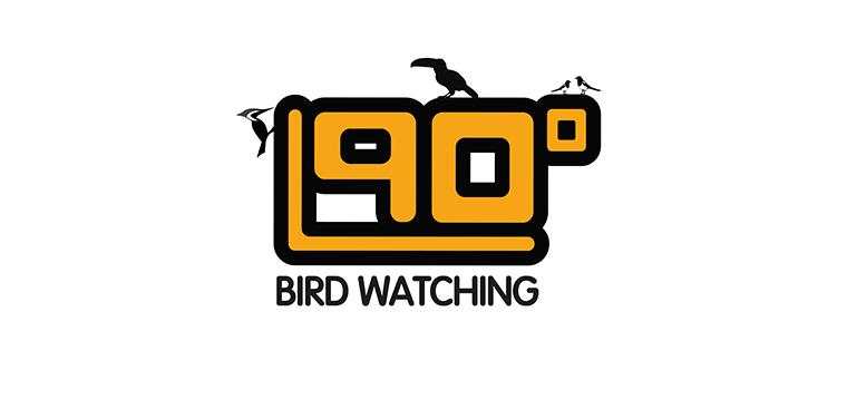 Logo 90 grados Birdwatching