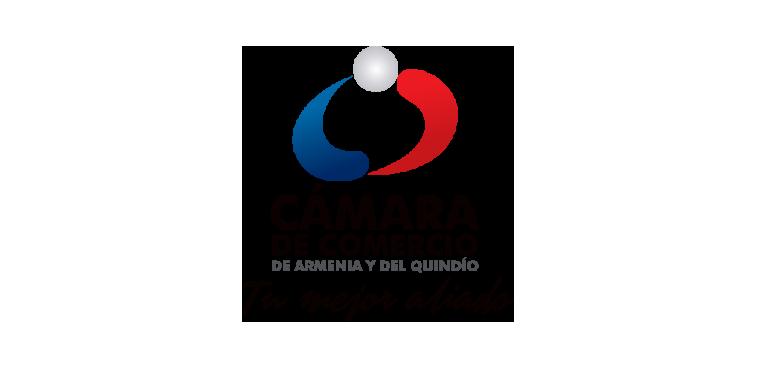 Logo Cámara de comercio de armenia y del Quindío, Tu mejor aliado