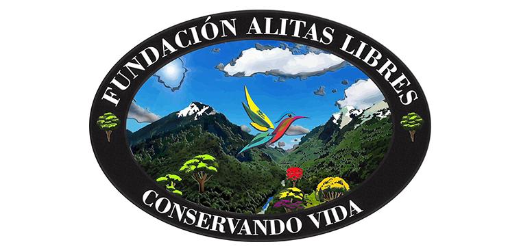 Logo Fundación Alitas Libres, conservando la vida