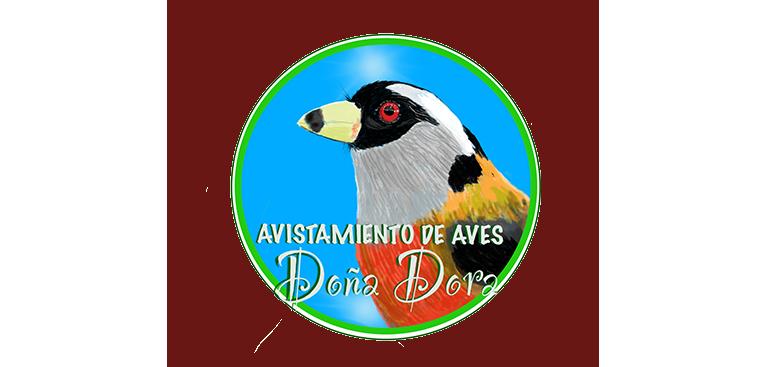 Logo Avistamiento de aves Doña Dora