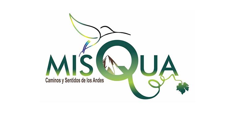 Logo MisQua, caminos y sentidos de los andes