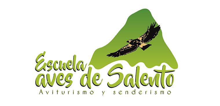 Logo Escuela aves de Salento, aviturismo y senderismo