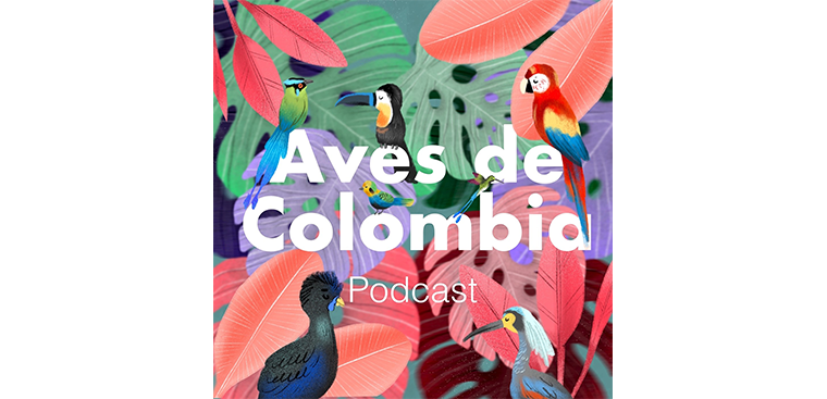 Logo Aves de Colombia Podcast