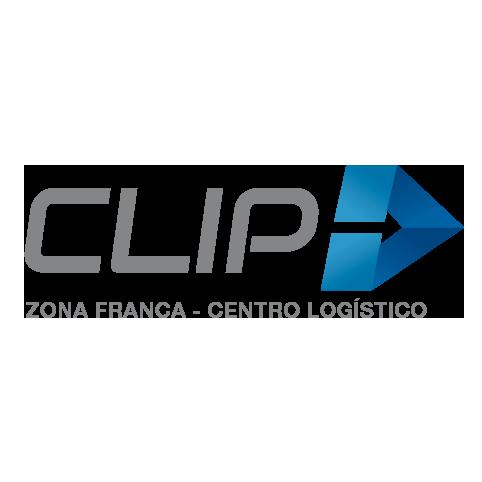 Logo Clip, zona franca, centro logístico