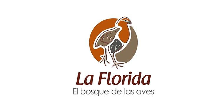 Logo La Florida, el bosque de las aves